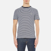 Lacoste Men's Striped T-Shirt - Navy