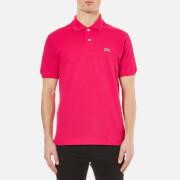 Lacoste Men's Short Sleeve Pique Polo Shirt - Fuchsia