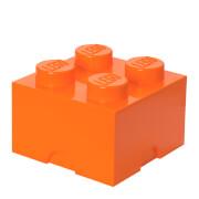 Brique de rangement LEGO® Orange 4 tenons