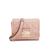 Karl Lagerfeld Women's K/Kuilted Mini Cross Body Bag - Quartz