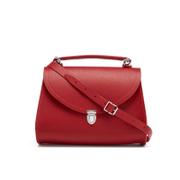 The Cambridge Satchel Company Women's Poppy Bag - Red Saffiano