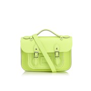 The Cambridge Satchel Company Women's Mini Satchel - Neon Yellow