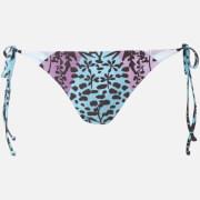 Mara Hoffman Women's Verbena Tie Bikini Bottoms - Sage/Multi