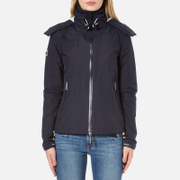 Superdry Women's Cliff Hiker Coat - French Navy/Ecru