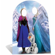Disney Frozen Stand In Kartonnen Figuur - Kindermaat