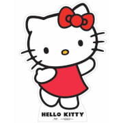 Mini Silhouette en Carton Hello Kitty