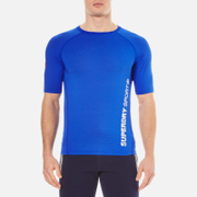 Superdry Men's Sports Active Relaxed T-Shirt - Cobalt