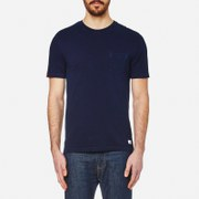 Superdry Men's Lite Loom City Indigo T-Shirt - Real Blue Indigo