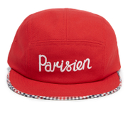 Maison Kitsuné Men's Cap 5P Parisien - Red