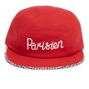 Maison Kitsuné Men's Cap 5P Parisien - Red