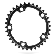 AbsoluteBLACK 130BCD 5 Bolt Spider Mount Oval Chain Ring - 39T - Black