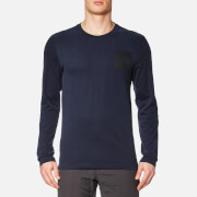 The North Face Men's L/S Fine T-Shirt - Urban Navy
