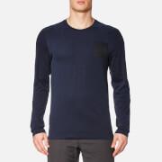 The North Face Men's L/S Fine T-Shirt - Urban Navy