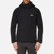 Jack Wolfskin Men's Highland Hooded Jacket - Black