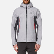 Jack Wolfskin Men's Refugio Flex Hooded Jacket - Alloy