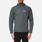 Jack Wolfskin Men's Northern Point Softshell Jacket - Dark Iron