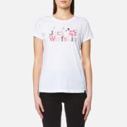 Jack Wolfskin Women's Brand Logo T-Shirt - White Rush