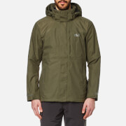 Jack Wolfskin Men's Brooks Range Flex Jacket - Burnt Olive
