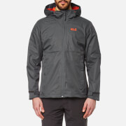 Jack Wolfskin Men's Arroyo Hooded Jacket - Dark Iron