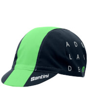 Santini Tour Down Under Adelaide Cotton Cap 2017 - Green