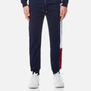 Tommy Hilfiger Men's Branded Jogging Pants - Navy Blazer