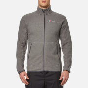 Berghaus Men's Stainton Full Zip Fleece Jumper - Grey Marl