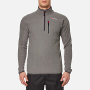 Berghaus Men's Stainton Half Zip Fleece Jumper - Grey Marl