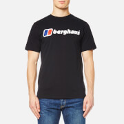 Berghaus Men's Block Logo 1 T-Shirt - Jet Black