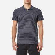 Oliver Spencer Men's Harper Polo Shirt - Harper Navy/Oatmeal