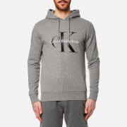 Calvin Klein Men's 90's Re-Issue Hoody - Mid Grey Heather