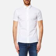 Calvin Klein Men's Wings Short Sleeve Shirt - Bright White