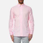 Hackett London Men's Garment Dyed Oxford Shirt - Pink