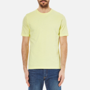 Folk Men's Crew Neck T-Shirt - Soft Lemon