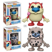Figurine Funko Pop! Cartoon Stimpy avec Variante Ren et Stimpy