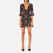 For Love & Lemons Women's Cherry Sundress - Cherry Noir