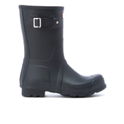 Hunter Men's Original Short Wellies - Navy