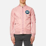 Maharishi Men's M.A.H.A. Spectrum Flight Jacket - Dusty Pink