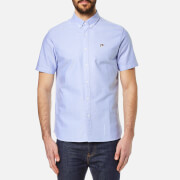 Penfield Men's Danube Short Sleeve Shirt - Blue