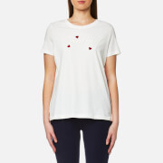 Tommy Hilfiger Women's Tommy Heart T-Shirt - Snow White