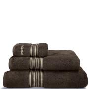 Calvin Klein Riviera Towel Range - Bark