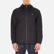 Lyle & Scott Men's Cotton Zip Through Jacket - Navy