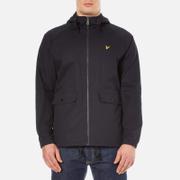 Lyle & Scott Men's Cotton Zip Through Jacket - Navy