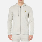Lyle & Scott Men's Zip Through Hoody - Light Grey Marl