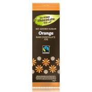 Barra de Chocolate Libre de Azúcar con Naranja