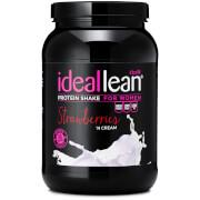 IdealLean プロテイン - ストロベリークリーム味