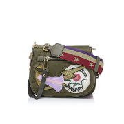 Marc Jacobs Women's Nylon Patchwork Small Nomad Bag - Military Green/Multi