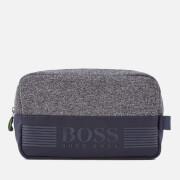 BOSS Green Men's Pixel Medium Washbag - Navy