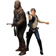 Star Wars Han Solo & Chewbacca ARTFX+ Statue 2-Pack