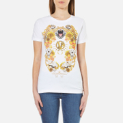 Versace Jeans Women's Printed T-Shirt - White