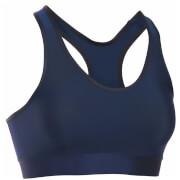 Under Armour Women's Mid Solid Sports Bra - Midnight Navy